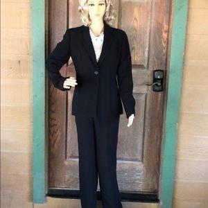 Calvin Klein Black Woman Suit Size 2